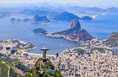 Latin America cityscape