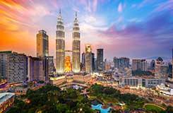 Southeast Asia cityscape