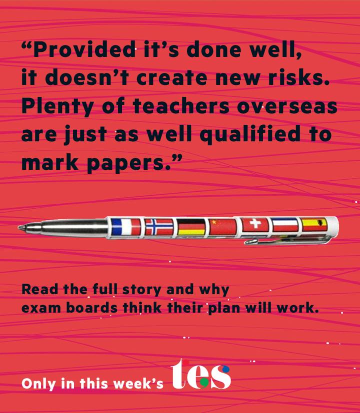 GCSE marking