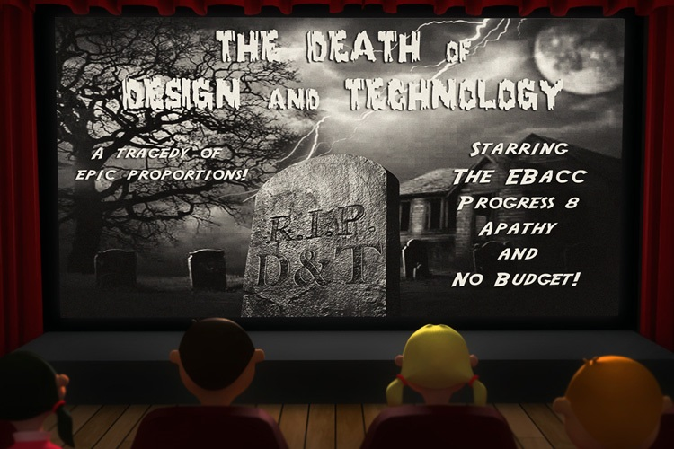 Subject Genius, Paul Woodward, The death of design and technology: A tragedy in three parts