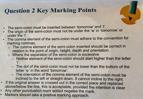 key stage 2 marking guidance