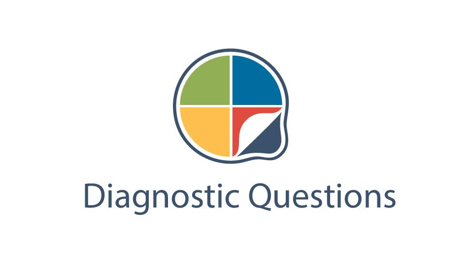 Image result for diagnostic questions logo