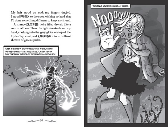Electrigirl story clippings