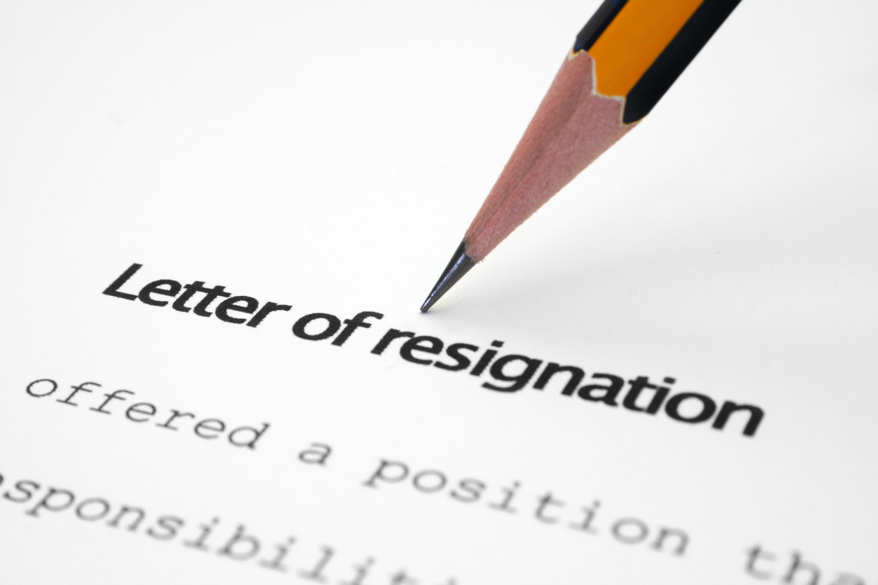 Teacher resignation letter How to resign