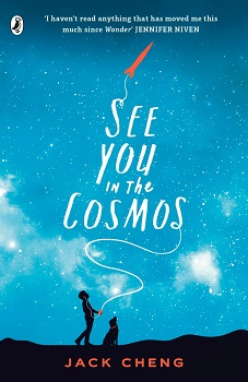 see you in the cosmos, jack cheng, puffin, book review, young adult, ya, fiction