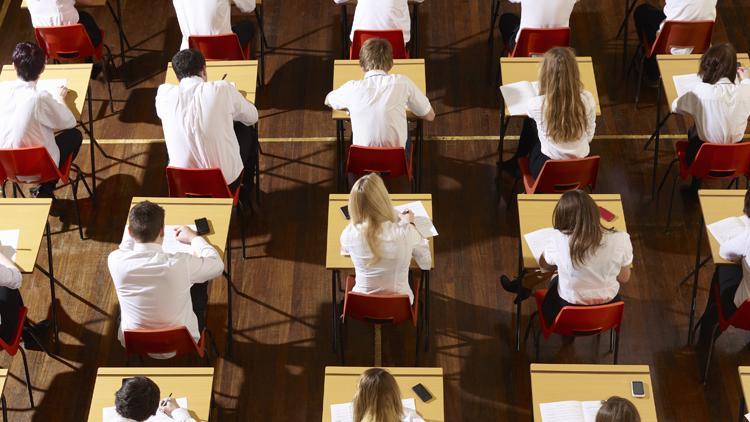 Exam hall succes