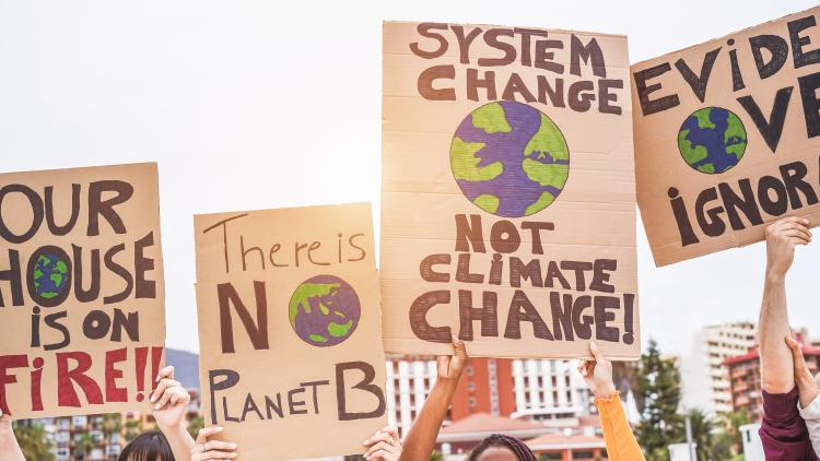 global climate change strikes