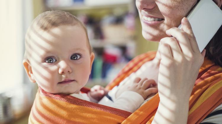 A teacher returns to work after maternity leave