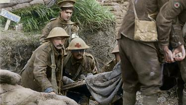Restored footage brings the First World War to life