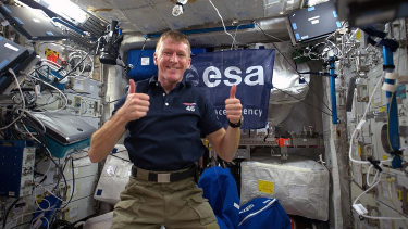 cosmic classroom,tim peake,space,space travel,space ping pong,q&as,questions and answers,primary