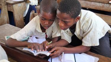 Using dictionaries in schools