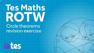 maths circle therom activity