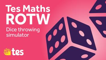 Tes Maths ROTW