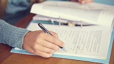 Exam marking