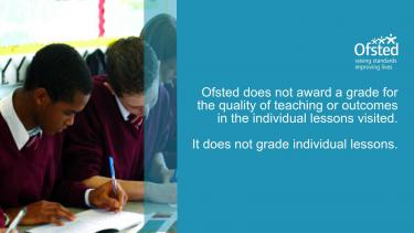 Ofsted myths: grades