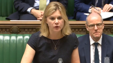 justine greening speech