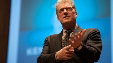 sir Ken Robinson, education, creativity, students