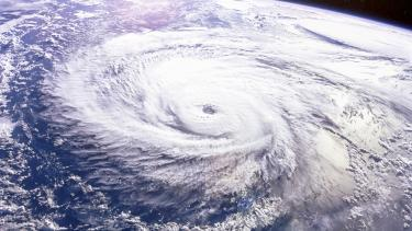 Satellite image of a hurricane, Natural hazards, weather and tectonic hazard resources for secondary students.jpg