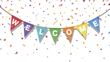 A welcome sign to show teachers meeting your new EYFS, primary or secondary class