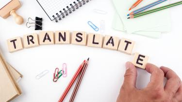 Practicing translation in a classroom
