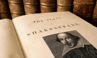 picture of Shakespeare book