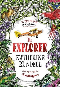 the explorer, katherine rundell, hannah horn, bloomsbury children's, adventure, book review
