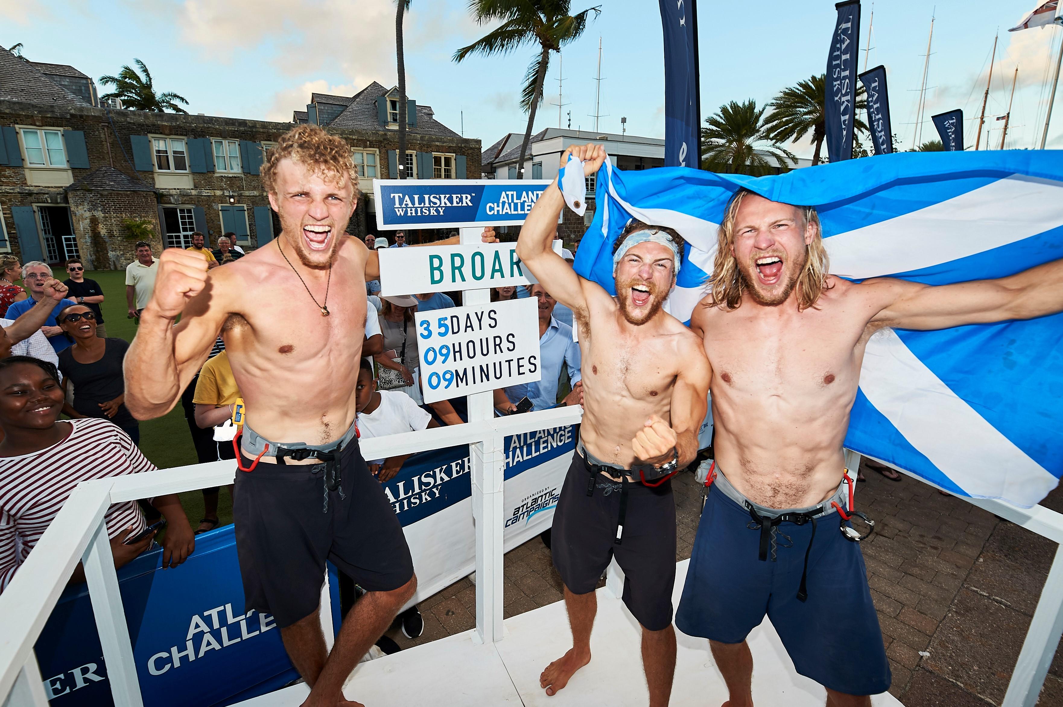 row Atlantic Scotland brothers Broar Lachlan MacLean schools