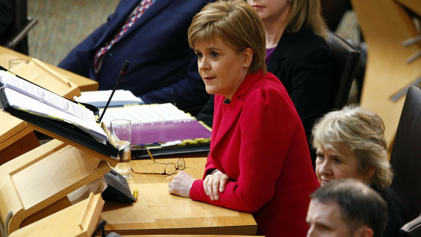 Nicola Sturgeon grilled on education issues at Scottish Parliament