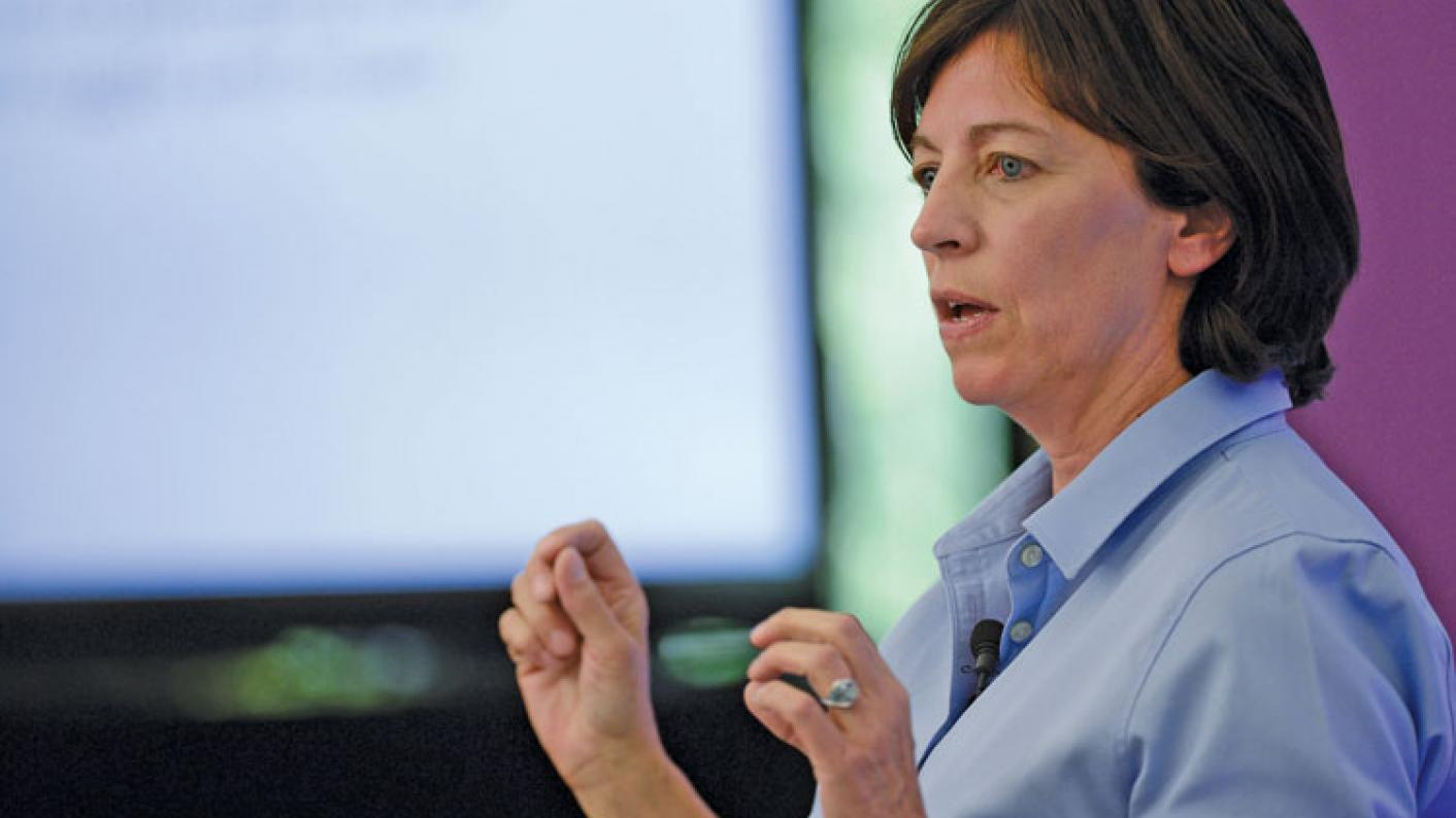 "Primary teachers get ""too much stick"" over maths, says Prof Jo Boaler"