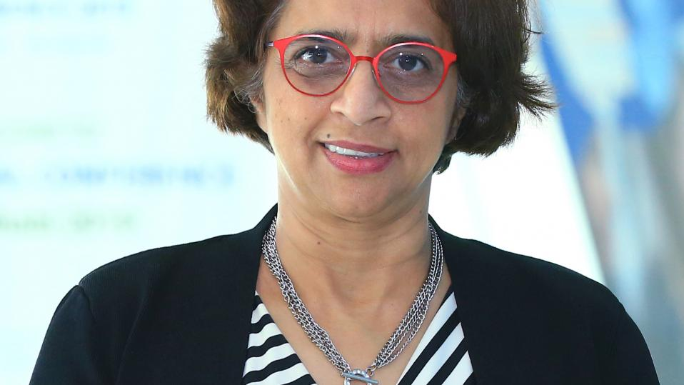Dr Siva Kumari the diector general of the International Baccalaureate
