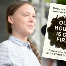 Cover of the book Our House is on Fire, by Greta Thunberg