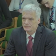 Andreas Schleicher giving evidence to the Commons Education Select Committee about the fourth industrial revolution.