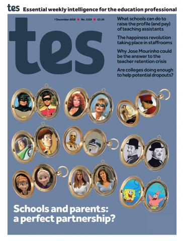 Tes - 07 December 2018 cover image