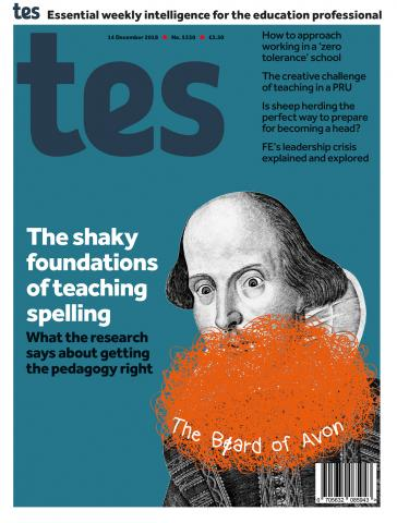 Tes - 14 December 2018 cover image