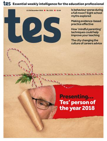 Tes - 21 December 2018 cover image