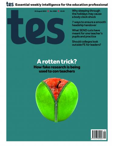 Tes issue 30 August 2019