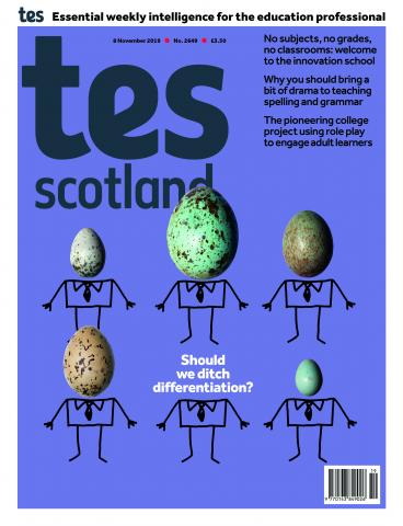 Tes Scotland issue 8 November 2019