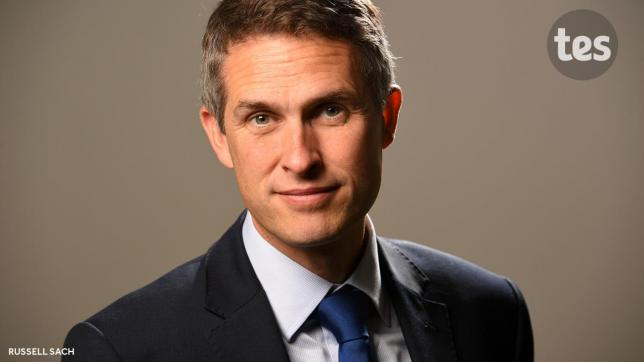 Gavin Williamson: Colleges 'haven't been getting it right' on leadership