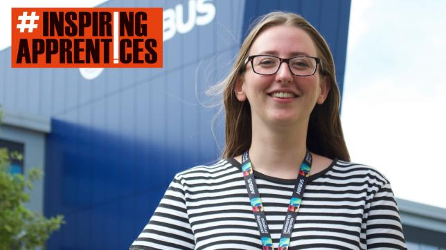 Apprenticeships: Apprentice Lucy King has secured a job at Airbus in Bristol for when she completes her apprenticeship