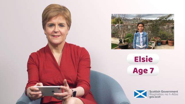 WATCH: First Minister answers kids' Covid-19 questions