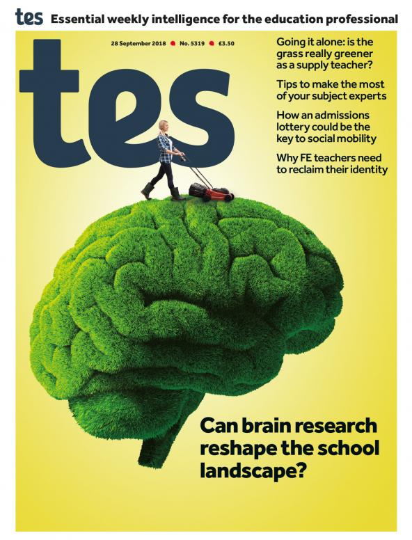 Tes - 28 September 2018 cover image