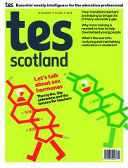 Tes Scotland cover 22/03/19