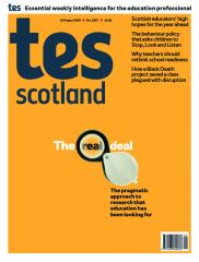 Tes Scotland cover 16/08/19