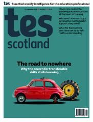 Tes Scotland cover 13/09/19