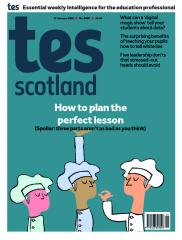 Tes Scotland cover 17/01/20