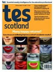 Tes Scotland cover 21/02/20