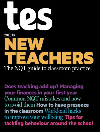 New Teachers 2017/18 cover image