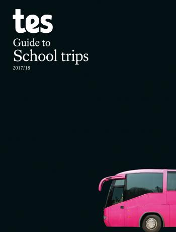 Tes Guide to School Trips cover image