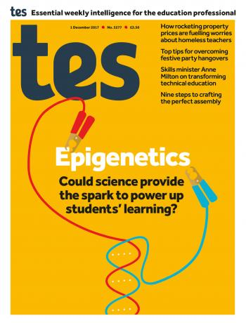 Tes - 1 December 2017 cover image