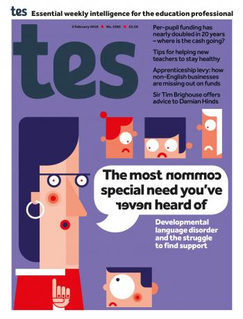 Tes - 2 February 2018 cover image